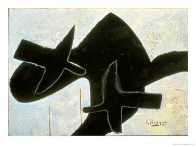 Reclining Nude-Georges Braque-Giclee Print