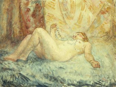 Reclining Nude-Henri Lebasque-Giclee Print