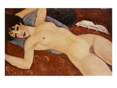 Reclining Nude-Amedeo Modigliani-Giclee Print