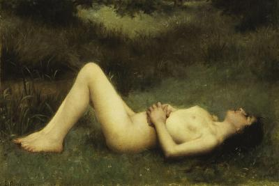 Reclining Nude-Louis Courtat-Giclee Print