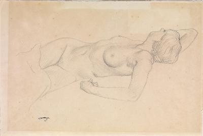 Reclining Nude-F?lix Vallotton-Giclee Print