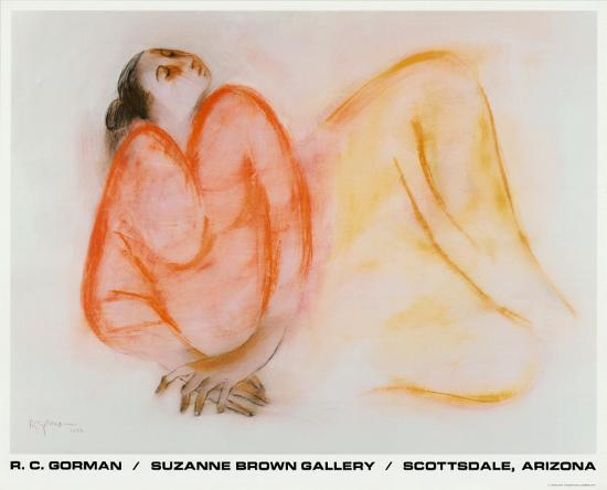 Reclining Woman-R^ C^ Gorman-Art Print