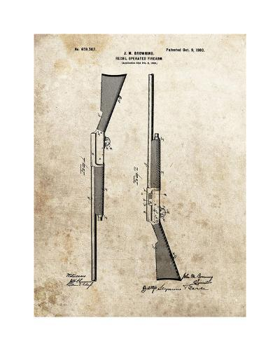 Recoil Operated Firearm, 1900-Dan Sproul-Giclee Print