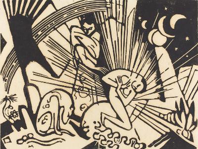 Reconciliation (Versoehnung), 1912-Franz Marc-Giclee Print