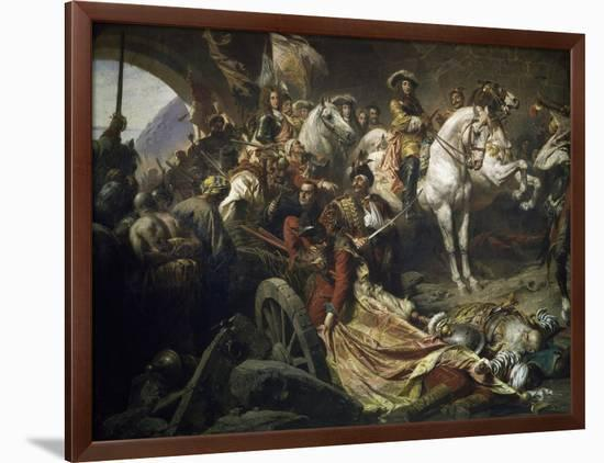 Reconquest of Buda Castle,1686-Gyula Benczur-Framed Giclee Print