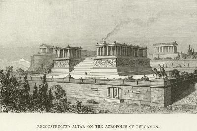 Reconstructed Altar on the Acropolis of Pergamon--Giclee Print