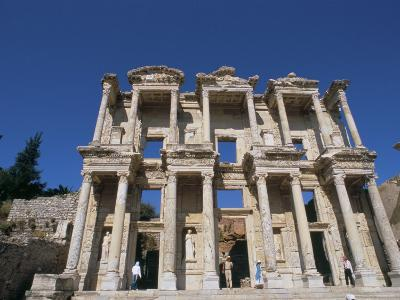 Reconstructed Library, Ephesus, Anatolia, Turkey-R H Productions-Photographic Print
