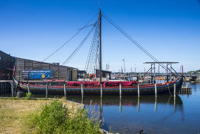 Reconstructed Viking Ship, Roskilde, Denmark-Michael Runkel-Photographic Print