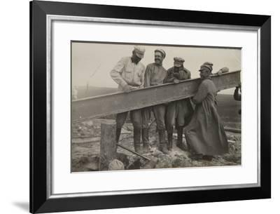 Reconstruction after the Civil War--Framed Photographic Print