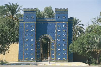 Reconstruction of the Ishtar Gate--Photographic Print
