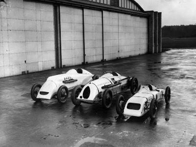 Record Bid Cars-E. Bacon-Photographic Print