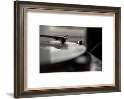 Record player detail-Christine Meder stage-art.de-Framed Photographic Print