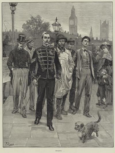 Recruits-Frank Dadd-Giclee Print