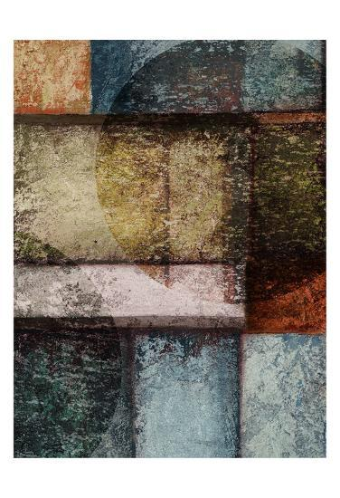 Rectangle Wcircles 6 Right-Kristin Emery-Art Print