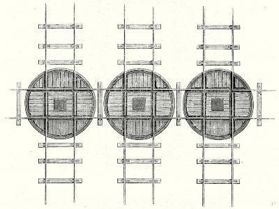 Rectangular Railway Turning Plates--Giclee Print