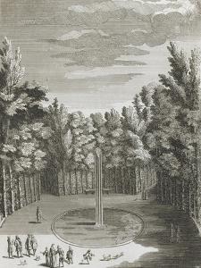"""Recueil des """"Plans, Profils et Elévations du Château de Versailles..."""" : planche 46 (1) : vue du"""