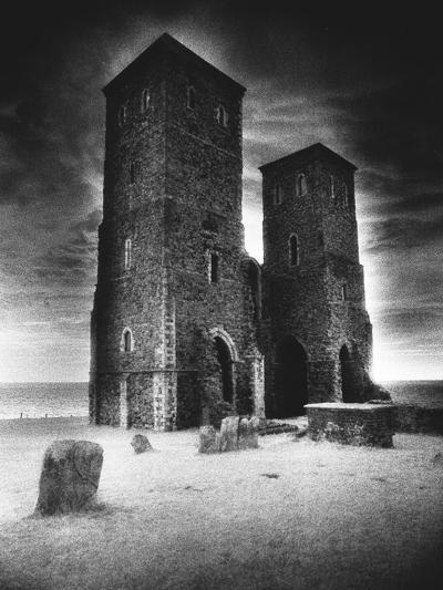 Reculver Towers and Roman Fort, Kent, England-Simon Marsden-Giclee Print