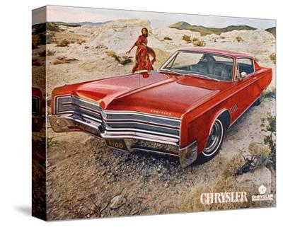 Red 1968 Chrysler