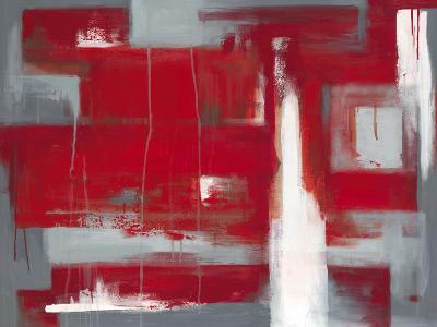 Red Abstract-Leigh Banks-Art Print