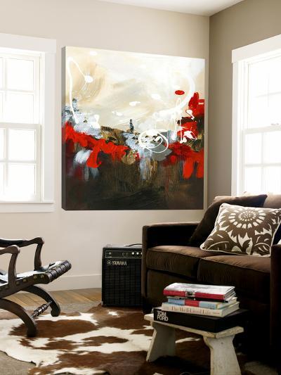 Red Abstract-Meejlau-Loft Art