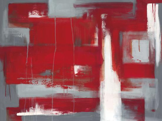 Red Abstract-Leigh Banks-Giclee Print