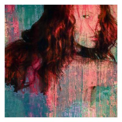 Red Aline-Jean-Fran?ois Dupuis-Art Print