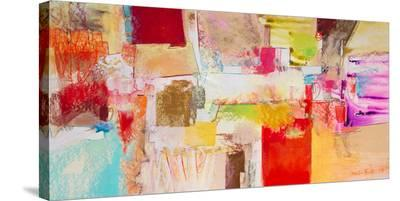 Red And Gold Leaf 3--Stretched Canvas Print