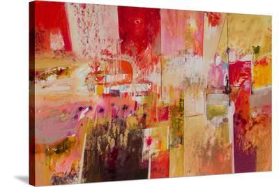 Red And Gold Leaf 4--Stretched Canvas Print