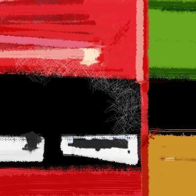 Red and Green Square-NaxArt-Art Print
