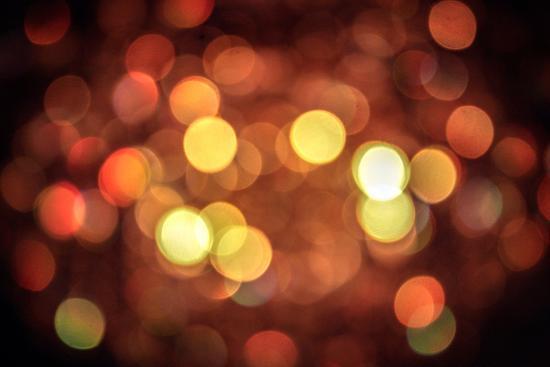 Red and Orange Lights--Photo