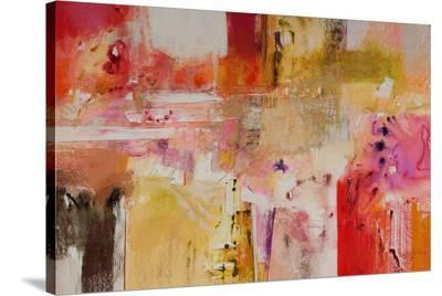Red And Orange Series 8--Stretched Canvas Print