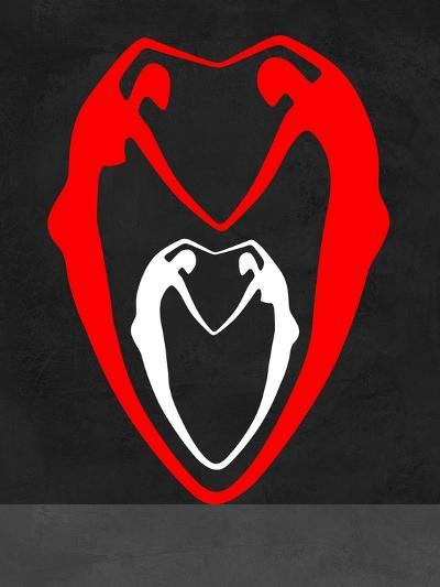Red and White Heart-Felix Podgurski-Art Print