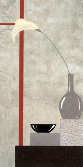 Red and White Setting II-J^l^ Vittel-Art Print