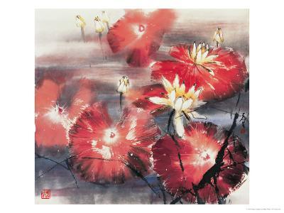 Red Angels-Wong Luisang-Giclee Print