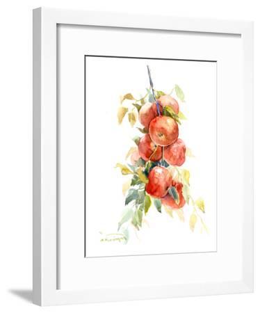Red Apple 4-Suren Nersisyan-Framed Art Print
