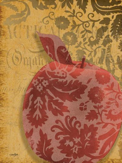 Red Apple Damask-Diane Stimson-Art Print