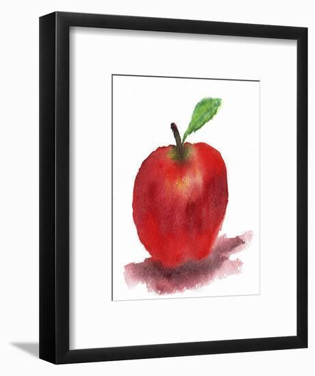 Red Apple-Wolf Heart Illustrations-Framed Giclee Print