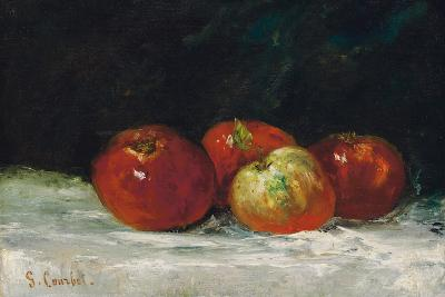 Red Apples, 1872-Gustave Courbet-Giclee Print