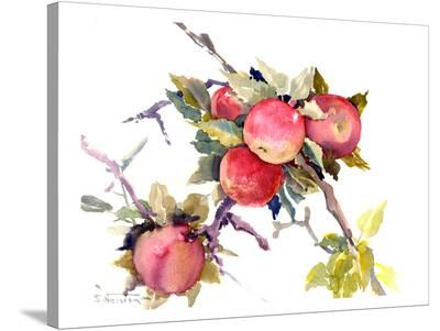 Red Apples-Suren Nersisyan-Stretched Canvas Print
