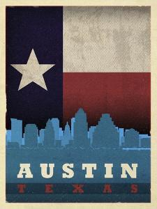 Austin Flag by Red Atlas Designs