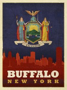 Buffalo Flag by Red Atlas Designs