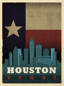 Houston Flag by Red Atlas Designs