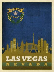 Las Vegas Flag by Red Atlas Designs
