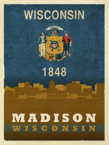Madison Flag by Red Atlas Designs