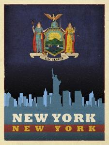 NYC flag by Red Atlas Designs