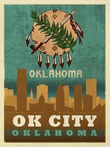 OK City flag by Red Atlas Designs