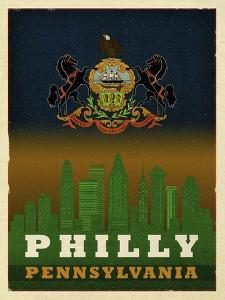 Philly Flag by Red Atlas Designs