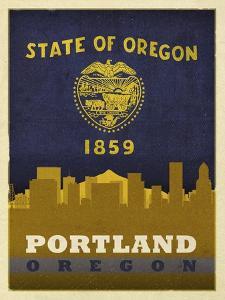 Portland Flag by Red Atlas Designs
