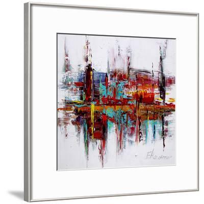 Red Autobiography--Framed Art Print