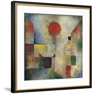 Red balloon-Paul Klee-Framed Giclee Print